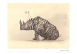 Drawing for the Magic Flute (Tamino's Rhinoceros)