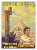 Chichen Itza - Yucatan  Mexico - El Castillo Mayan Pyramid