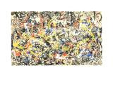 Convergence Sérigraphie par Jackson Pollock