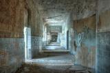 Corridor in an Abandoned Hospital in Beelitz Papier Photo par Stefan Schierle