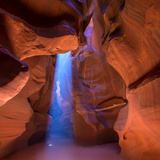 Antelope Canyon Arizona Light Beams on Navajo Land near Page