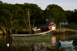 Lobster Boats in New Harbor  Maine