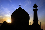 Taj Mahal White Marble Mausoleum