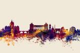 Rome Italy Skyline