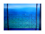 Romantic Seaview Balcony in the Mediterranean