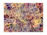 London England City Street Map