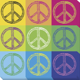 Peace Pop Art