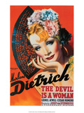Vintage Movie Poster - The Devil is a Woman
