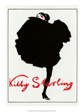 Vintage Poster Advertising Kitty Starling