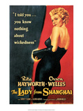 Vintage Movie Poster - The Lady from Shanghai