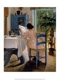 Reading Woman at Breakfast  1898
