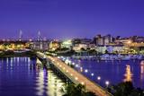 Charleston  South Carolina  USA Skyline over the Ashley River