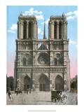 Vintage Paris Postcard - Notre-Dame