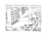 Home Shoplifting Network - Cartoon