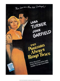 Vintage Movie Poster - The Postman Always Rings Twice
