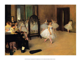 The Dance Class  1871