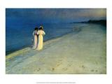 Summer Evening on Skagen Beach  1893