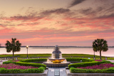 Charleston  South Carolina  USA at Waterfront Park