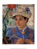 Jeanette Rubenson Crocheting   1883