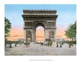 Vintage Paris Postcard - L'Hotel de Ville