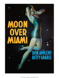 Vintage Movie Poster - Moon Over Miami