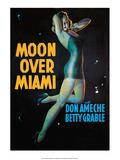 Vintage Movie Poster - Moon Over Miami