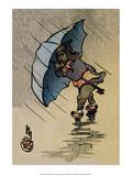 The Blue Umbrella  1914
