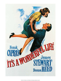 Vintage Movie Poster - It's A Wonderful Life