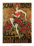 Vintage Poster Advertising Scala Theatre