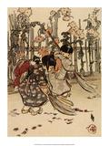 New Brooms  1910  Sweeping Leaves