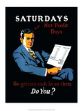 Vintage Business Saturdays - Go-getters cash in on them