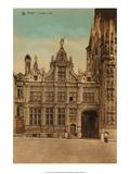 Vintage Postcard  Le Justice de Paix  Bruges