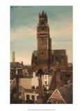 Vintage Postcard  Cathedral St Sauveur  Bruges