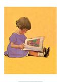 Mon premier livre d'images Reproduction d'art par Jessie Willcox Smith