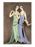 Art Deco Fashion  The Girlfriends  1922