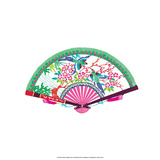 Chinese Paper Cut  Fan