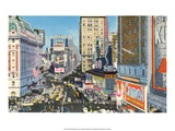 Vintage New York Postcard - Times Square