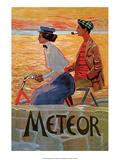 Vintage Bicycle Poster  Meteor