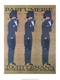 Vintage Poster Advertising Parfumerie