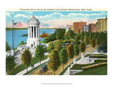 Vintage New York Postcard -Riverside Drive