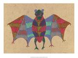 India Folk Art  Bat