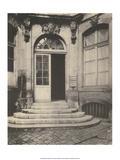 Paris Courtyard Doorway