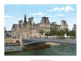 Vintage Paris Postcard - Le Pont Alexandre III