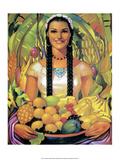Retro Mexican Poster