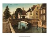 Vintage Postcard  Quai des Marbriers  Bruges