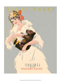 Vintage Music Sheet  Pizzi-Puzzi  Girl with Baby Bear