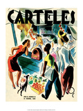 Carteles  Retro Cuban Magazine  Listening to the Radio