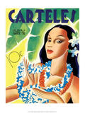 Carteles  Retro Cuban Magazine  Local Havana Beauty