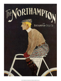 Vintage Bicycle Poster  The Northampton