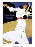 Vintage Tennis Poster  1908